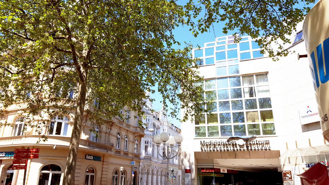 Eingang Friedensplatz